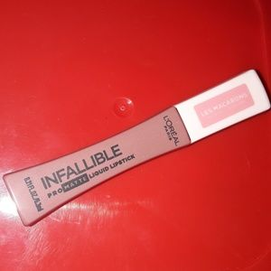 New l'oreal infallible lipstick